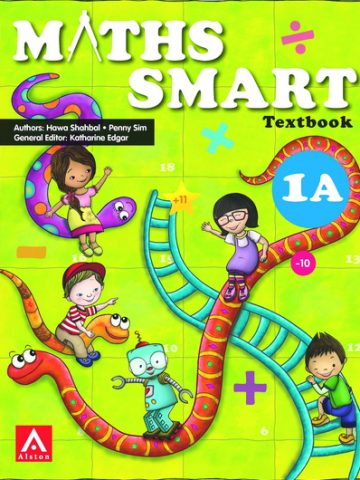 maths SMART G1A Textbk cover